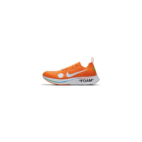 NIKE ZOOM FLY MERCURIAL FLYKNIT OFF-WHITE ORANGE AO2115-800