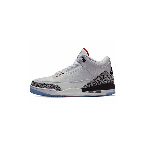 JORDAN 3 ALL-STAR WHITE/CEMENT CLEAR SOLE 923096-101