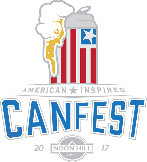 Noon Hill Grill Canfest, 2017 logo