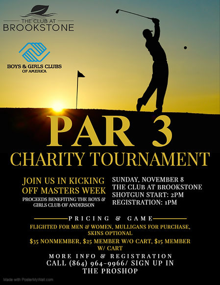 Copy of Golf Tournament Flyer Template -