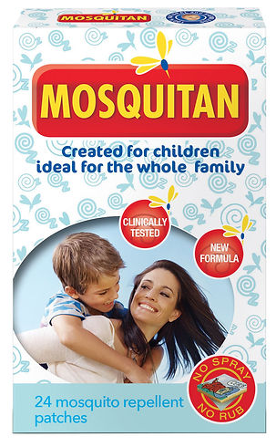 Mosquitan patch kids