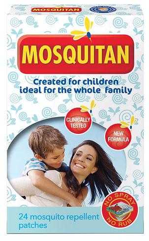 Mosquitan patch kids