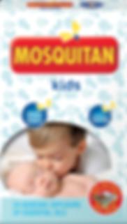 Mosquitan Kids samoljepljivi jastučić protiv komaraca