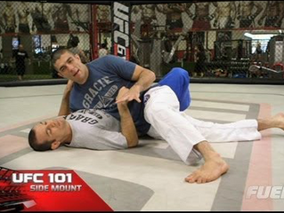 Gracie Combatives Elbow Escape from Side Mount tips