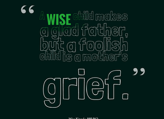 How to Grow a Wise Child