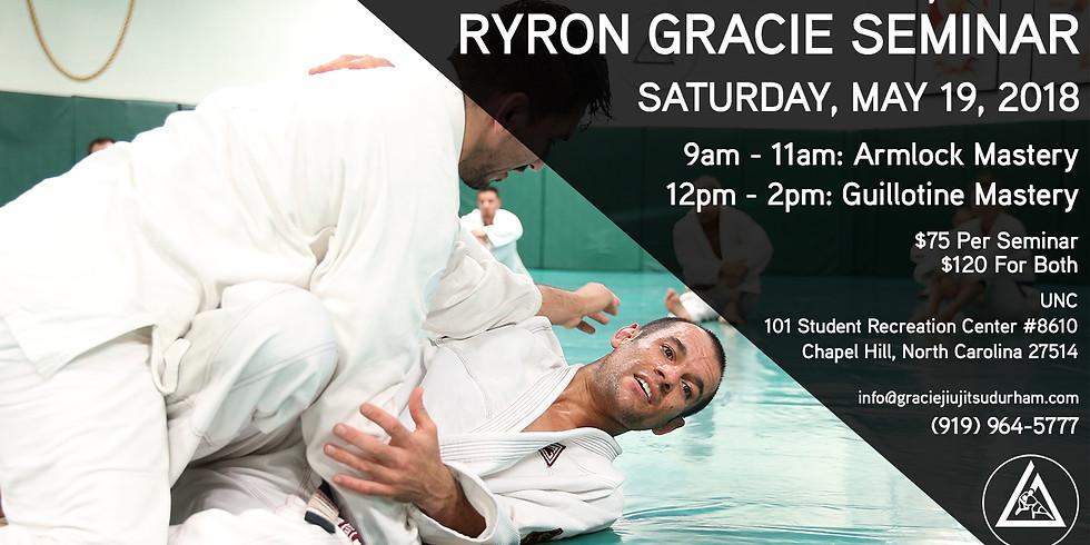Ryron Gracie Seminar