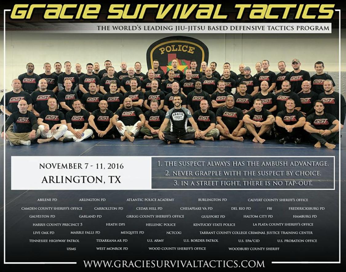 Gracie Survival Tactics Durham Arlington