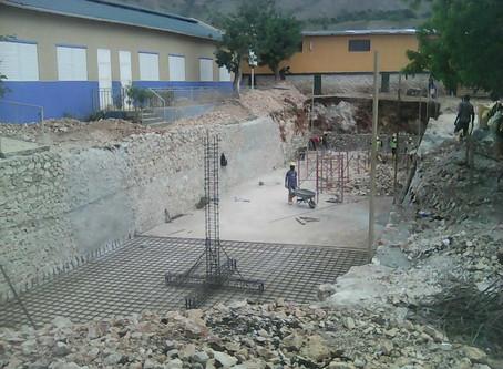 Comienzan las obras de nuestros proyectos en Haití