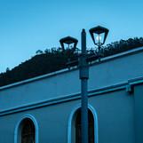 Farol de luna Usaquén, Bogota.