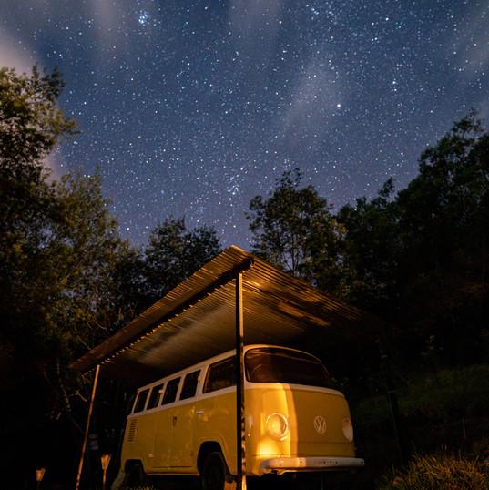 Una Combi con estrellas