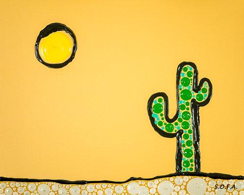 My Little Cactus (Print)