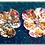 Thumbnail: Boucles d'oreilles -PENSEE-GRENAT