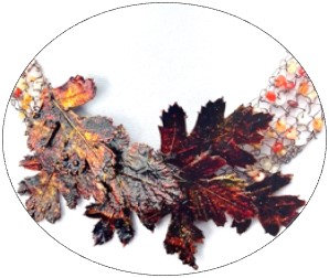 Collier - Aubépines d'automne
