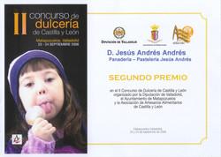 Concurso Dulcería Castilla y León