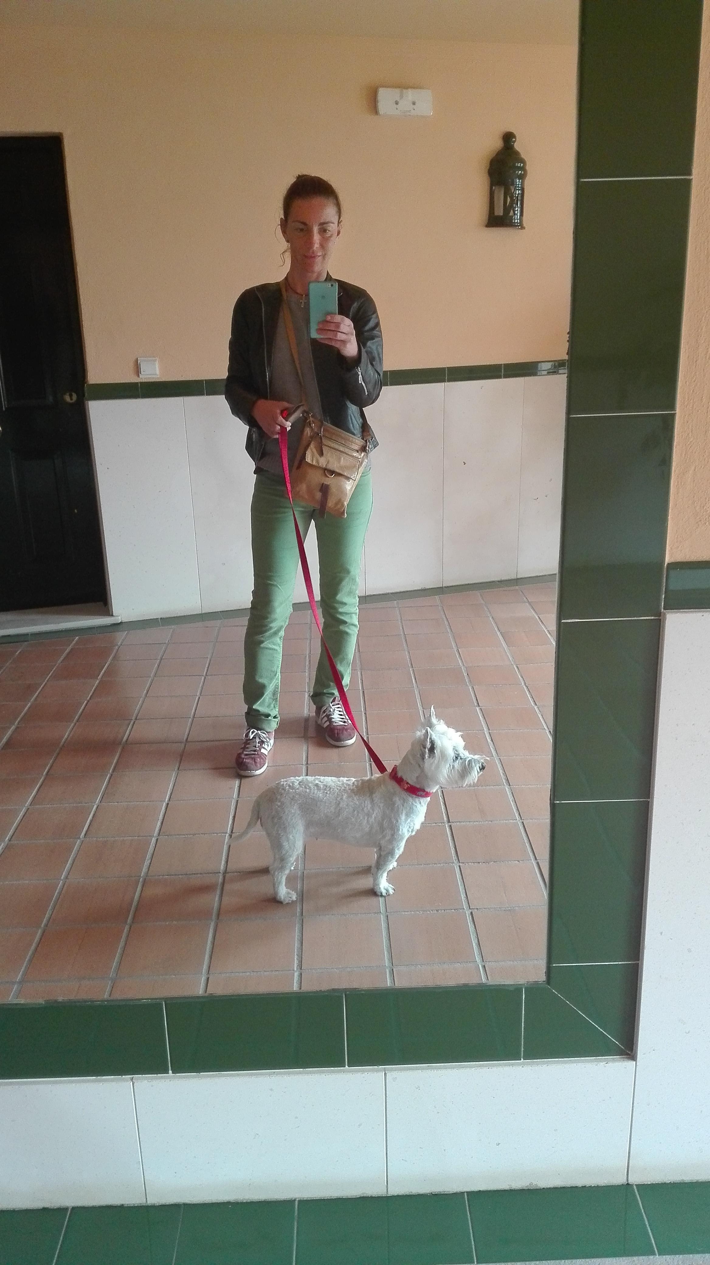 selfi con Annie