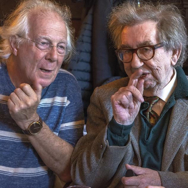 In overleg, Han de Vries en Willem Jens, 2018
