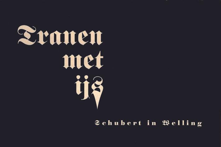 'Tranen met ijs', Schubert in Welling (1997, oplage 600 exemplaren). Een aantal vaste bezoekers van Welling werd benaderd om één of meerdere liedteksten uit de Wintwerreise van Wilhelm Müller in het Nederlands om te zetten. De meest zingbare werd door Lieuwe Visser bij het Gala in de Kleine Zaal ten gehore gebracht, deze was van de hand van Willem Jens. Voorwoord Martin van Amerongen, teksten van o.a. Ike Cialona, Pieter Nieuwint, Jean-Paul Franssens, Henk van Gessel, Ernst Ris.