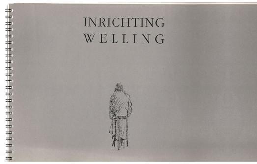 'Inrichting Welling' (1993, oplage 400 exemplaren). Uitgave in ringband met ontwerpen om café Welling toekomstbestendig te maken voor de eenentwinstigste eeuw. De ontwerpen zijn van de hand van architecten die Welling regelmatig frequenteerden, onder wie Ton van de Pol, Pi de Bruijn, Max van den Berg, Fred Schoen, Joost Rademakers e.a. Samenstelling Ellen Janssen, Annelies de Korver.