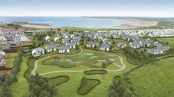 Beadnell Bay Property Development Shot