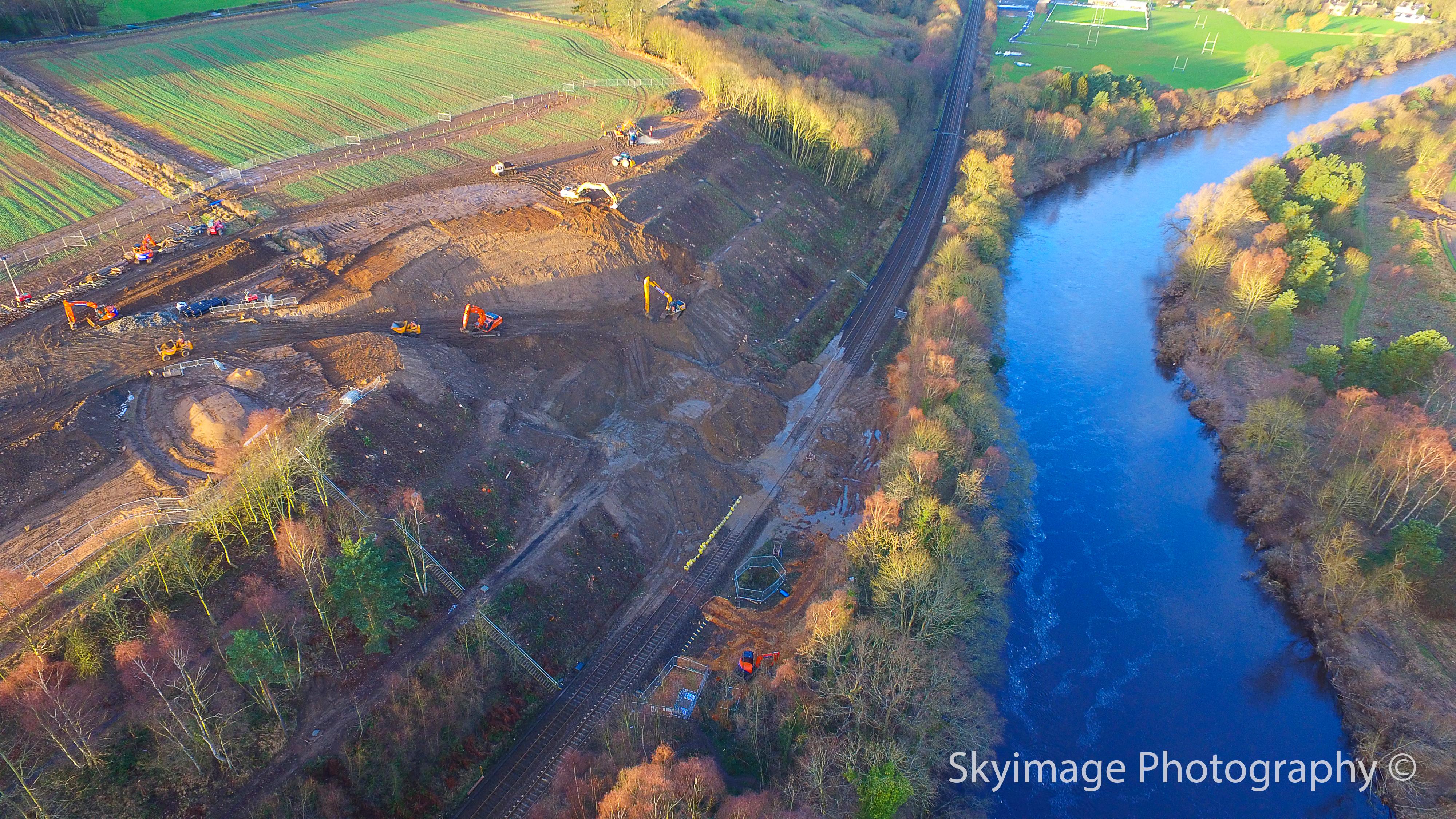 Landslide development