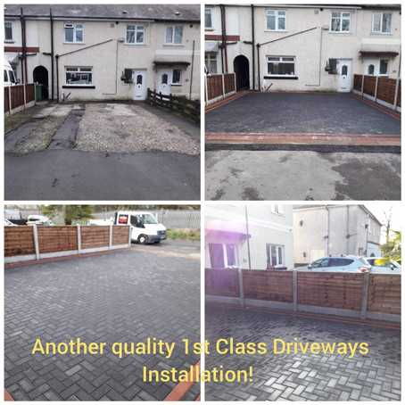 Driveway Job in Westhoughton, Bolton