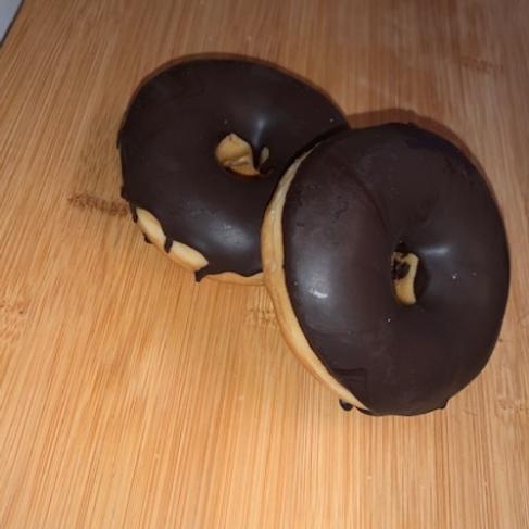 """Unsere"""" Donut"""" mit Schoko Glasur"""