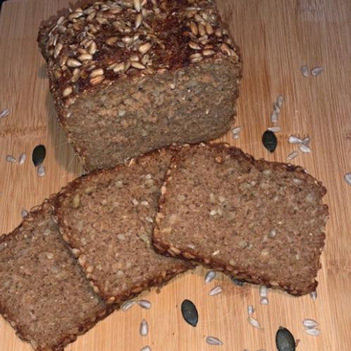 """Unser """"Dinkel-Schwabenkorn Brot"""" 500g"""