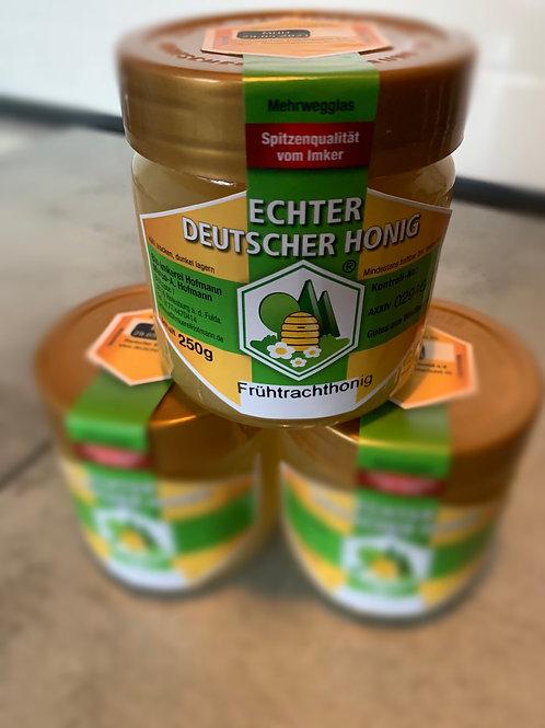 """Honig aus dem Hessischen """"Frühtracht"""" 250g Glas"""