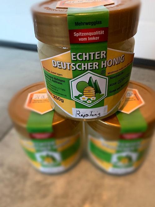 """Honig aus dem Hessischen """" Rapshonig"""" 250g Glas"""