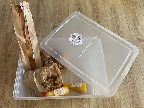 """Unsere """"Krümelbox"""" einmalig Backfrisch gefüllt"""