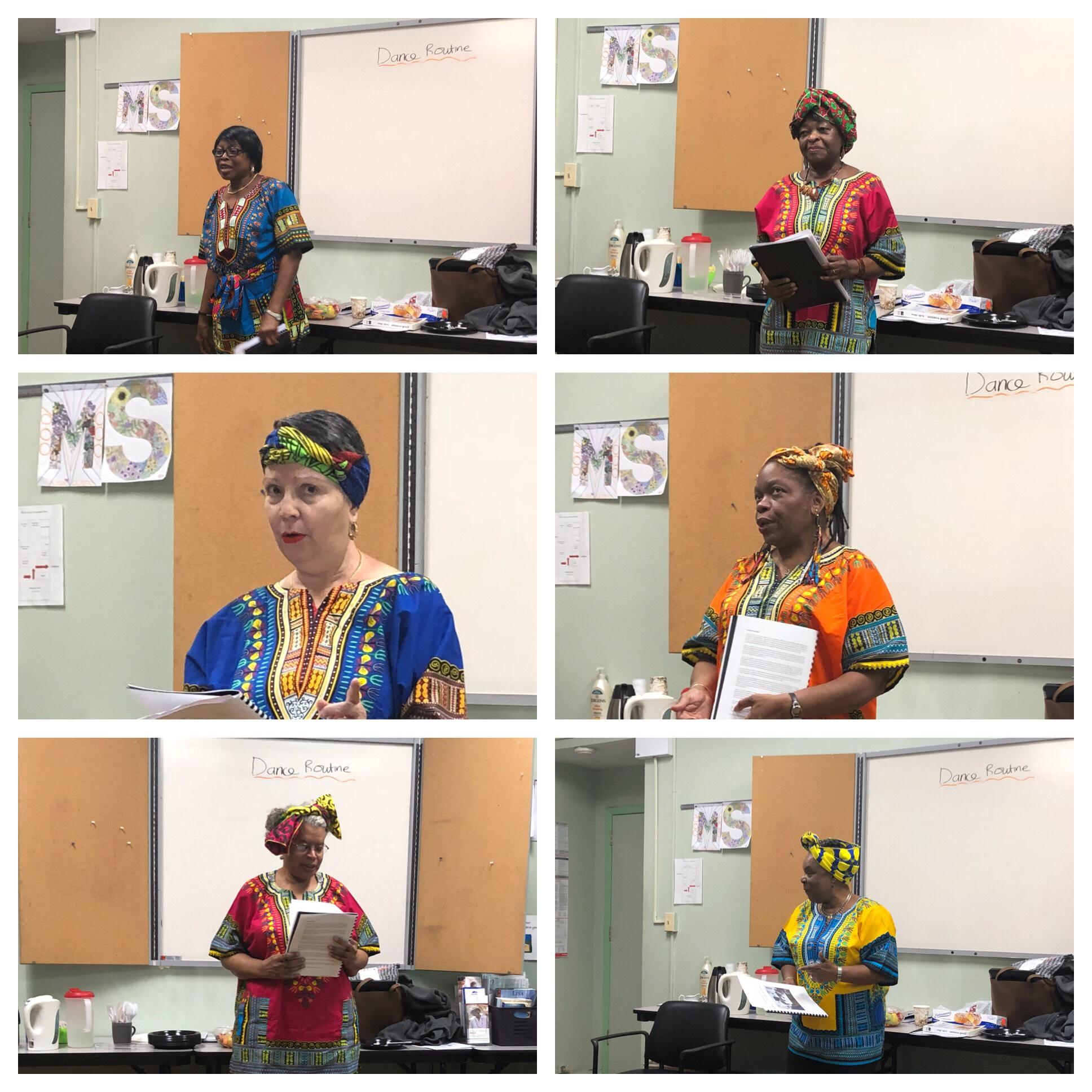 Participants Reading