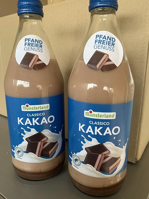 """Münsterland Classico """"Kakao"""" 0,5l Flasche, kein Pfand"""