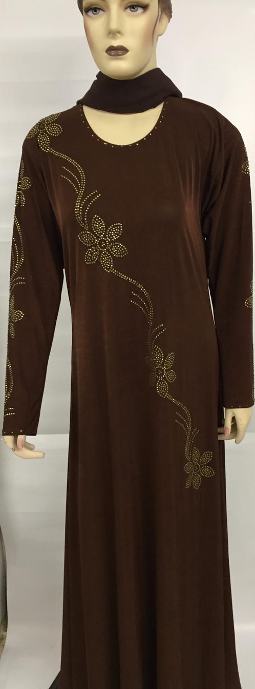 brown abaya tdr supplements and fashion