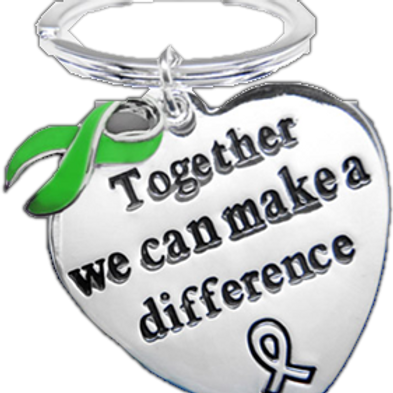 Together We Can Make A Difference Keychain