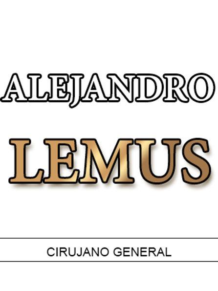 Dr. Alejandro Lemus Páez