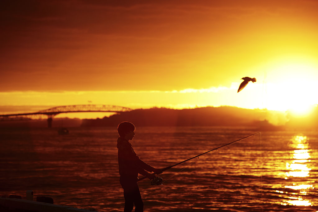 Fishing At Sunset_65445.jpg