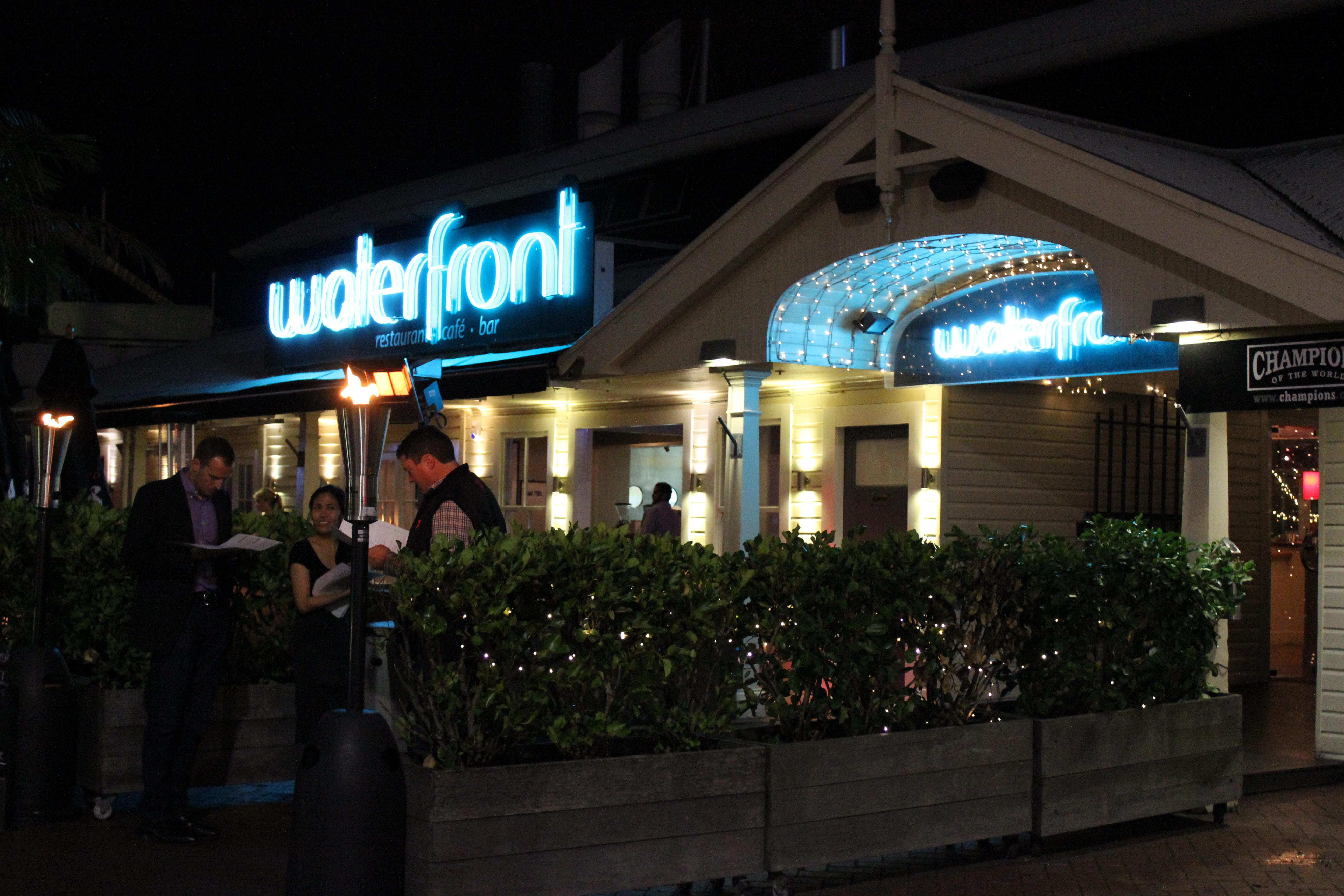 Viaduct Harbour restaurants