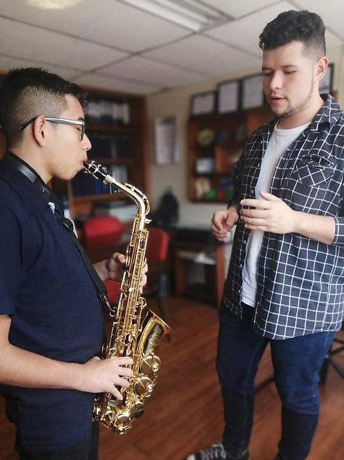 Curso Libre de Saxofón - 12 clases