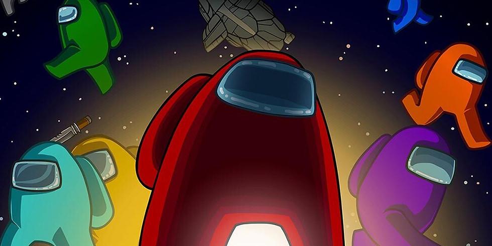 """Игра """"Открытый космос"""" ,  посвященная Дню космонавтики по мотивам легендарной игры """"Among Us""""."""