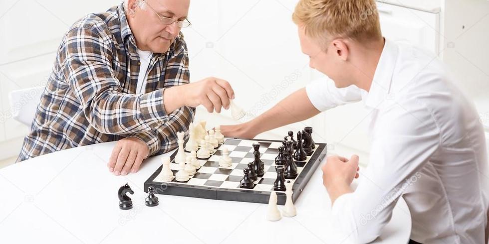 Турнир по шахматам, взрослые