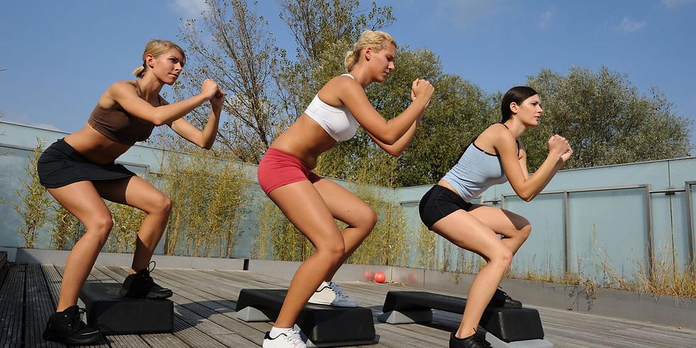 Спортивное мероприятие «Fitness Start»  (степ - аэробика)