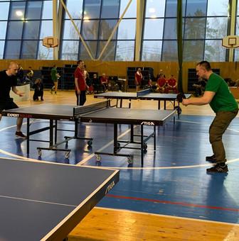Финальные окружные соревнования по настольному теннису