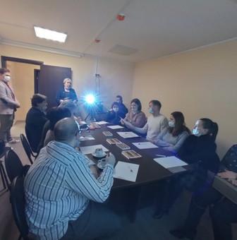 Круглый стол по обмену опытом по проведению дистанционных мероприятий с населением