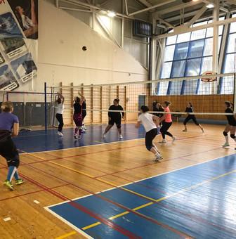 """Участие в спартакиаде по волейболу """"Спорт для всех"""""""