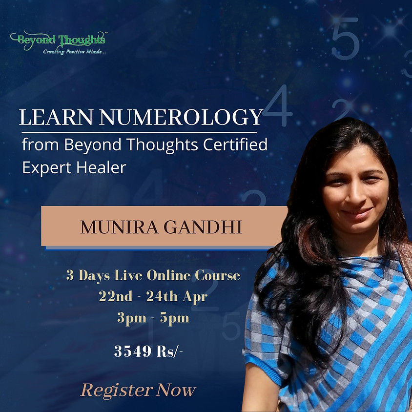 Certified Numerology Beginners Course (Online)