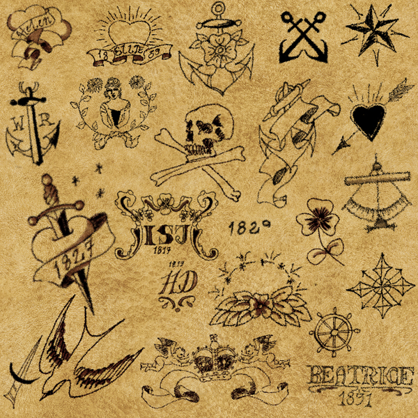 Victorian Tattoos