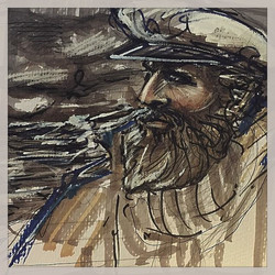 Sailor with pipe
