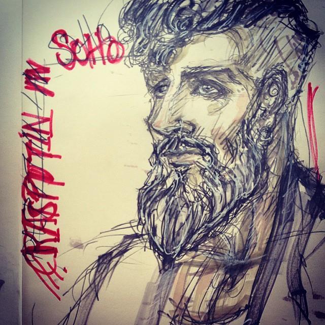 Rasputin in Soho