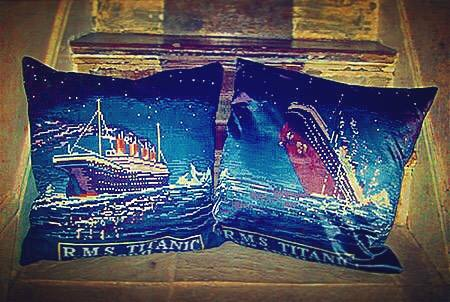 The Titanic Cushion Design