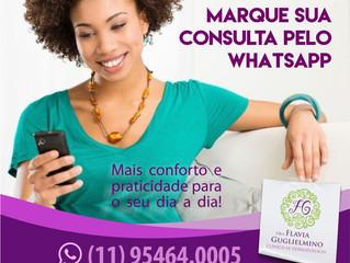 Marcações pelo Whatsapp